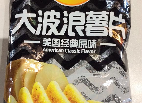 乐事大波浪薯片-美国经典原味 70g Lays Potato Chips-Classic Original