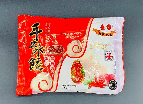 康乐水饺-四川麻辣烫410g HR Dumplings-Spicy Sichuan Pork