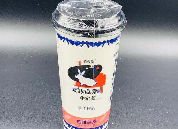 奶白兔牛乳茶白桃乌龙 117g NBT Peach Oolong Milk Tea