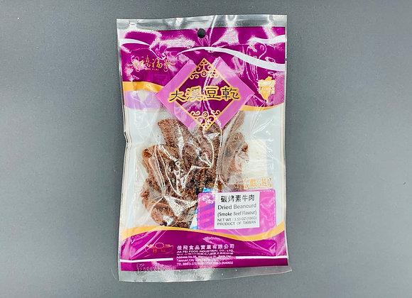 禧福大溪豆干-碳烤素牛肉100g SF Dried Beancurd-Smoke Beef  Flavour