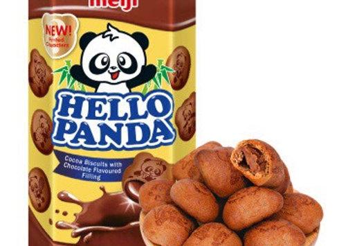 小熊饼干-双重巧克力味 50g Meiji Hello Panda Biscuit-Double Chocolate Flavour