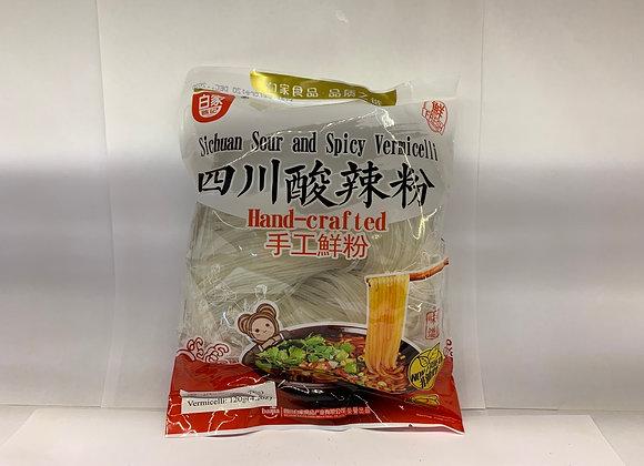 白家四川酸辣粉 190g BJ Sichuan Vermicelli-Sour & Spicy