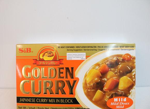 S&B日本咖喱-微辣 220g S&B Golden Curry-Mild