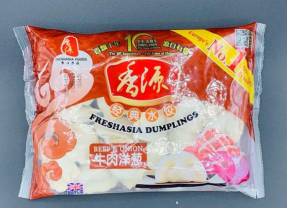 香源水饺-牛肉洋葱400g Freshasia Beef & Onion Dumpling