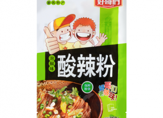 好哥们酸辣粉-泡椒味 260g HGM Potato Noodle Pickle Chilli