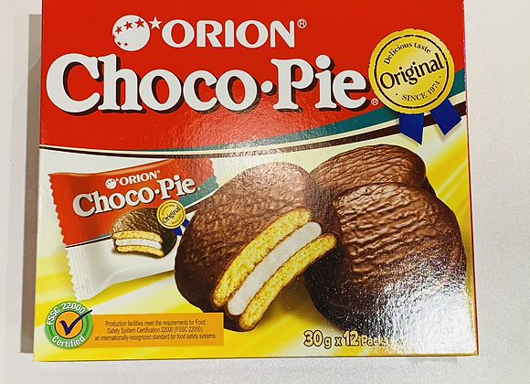 Orion 巧克力派 12×30g Orion Choco pie
