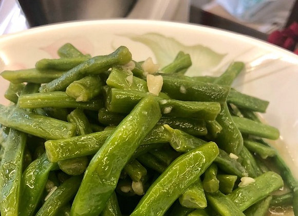 蒜蓉四季豆 Fried Green Beans with Garlic