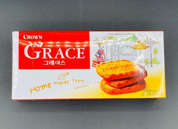蕾丝曲奇85g Crown Grace Cookie