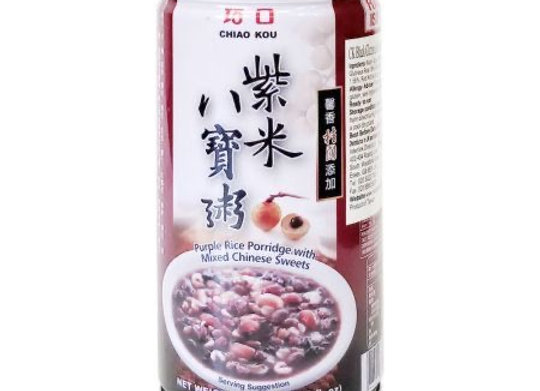 巧口紫米八宝粥24x350g Chiao Kou Purple Rice Porridge with Mixed Chinese Sweets