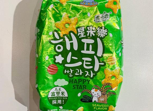 星米乐-海苔味 70g SG Happy Star-Seaweed