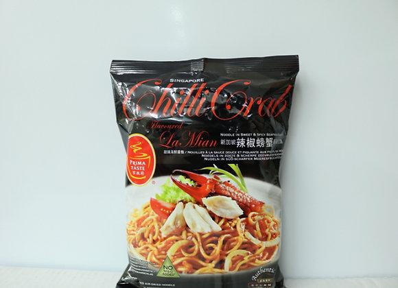 百胜厨辣椒螃蟹味拉面 160g Prima Taste Singapore Chilli Crab La Mian