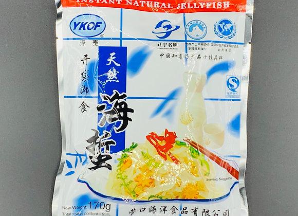 泽泰即食海蜇丝-原味 170g YKOF Instant Shredded Jelly Fish