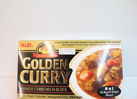 S&B日本咖喱-辣 220g S&B Golden Curry-Hot