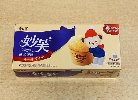 康师傅妙芙蛋糕-香芋味 96g KSF Cookies-Taro Flavour