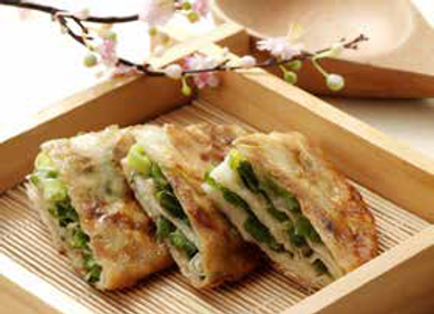 葱油饼 Chinese Pancakes with Spring Onion