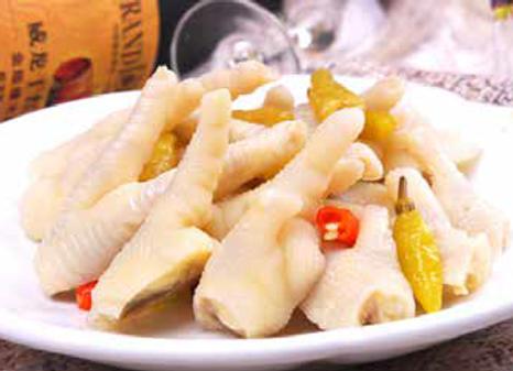 泡椒凤爪 Chicken Feet with Pickled Chili