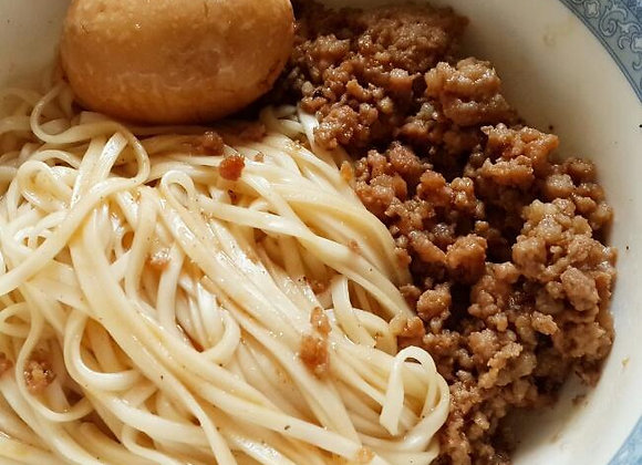 卤肉面 Noodles with Pork Mince