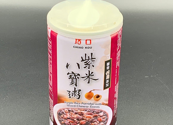 巧口紫米八宝粥350g Chiao Kou Purple Rice Porridge with Mixed Chinese Sweets