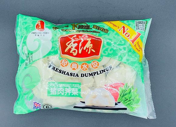 香源水饺-猪肉荠菜400g Freshasia Pork & Shepherd's Purse Dumpling