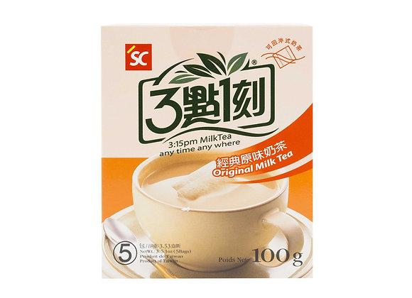 三点一刻经典原味奶茶 100g 3: 15PM Original Black Tea with Creamer