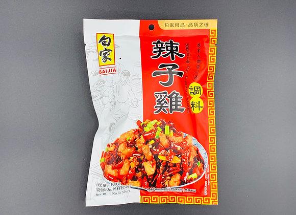 白家辣子鸡调料 100g BJ Seasoning for Peppery Chicken