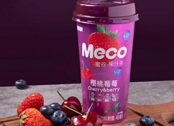 香飘飘蜜谷樱桃莓莓茶 400ml Meco Cherry & Berry Tea