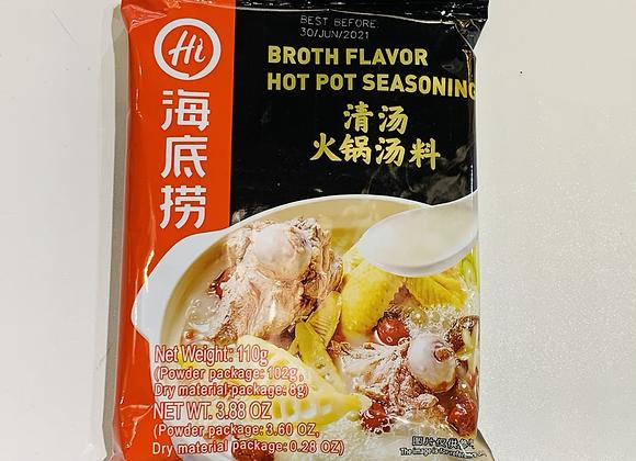 海底捞火锅底料-清汤 110g HDL Hotpot Bouillon-Broth