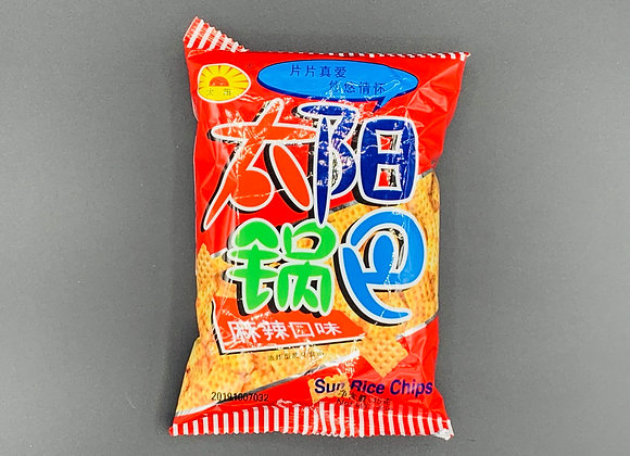 太阳锅巴-麻辣 45g TY Square Biscuit-Spicy