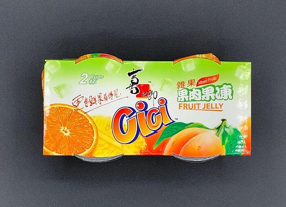 喜之郎果肉果冻-杂果 400g ST 2 Cups Mixed Fruit Jelly