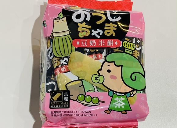雪之恋米饼-豆奶 140g SG Rice Cracker-Soymilk
