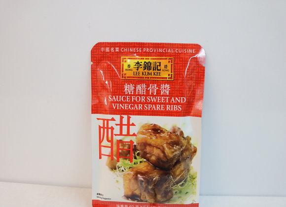 李锦记糖醋骨酱 60g LKK Sauce for Sweet & Vinegar Spareribs