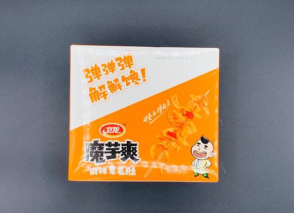 卫龙魔芋爽-麻辣素毛肚20x18g WL Konjac Strip -Hot Spicy
