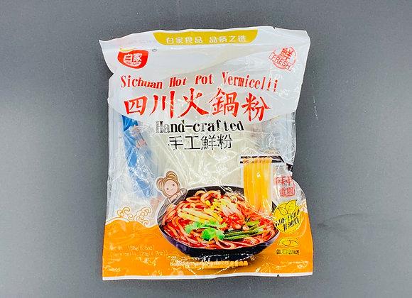 白家四川火锅手工鲜粉188g BJ Sichuan Vermicelli-Hot Pot