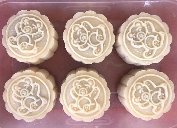 手工香芋小冰皮 Handmade Taro Mash Mochi Mooncake
