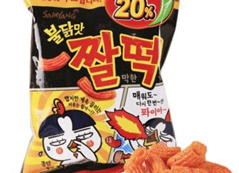 三养辣鸡年糕小吃 120g Samyang Zzal Dduck Snack
