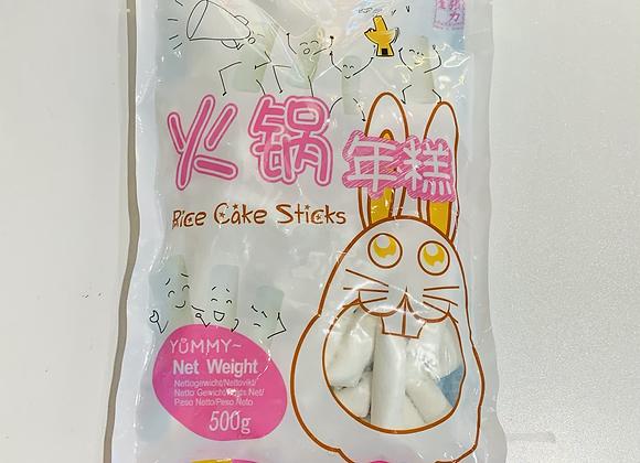 张力生火锅年糕 500g Changlisheng Frozen Rice Cake Sticks