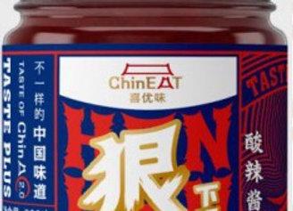 德庄喜优味酸辣酱 220g Dezhuang ChinEat Hot & Sour Sauce