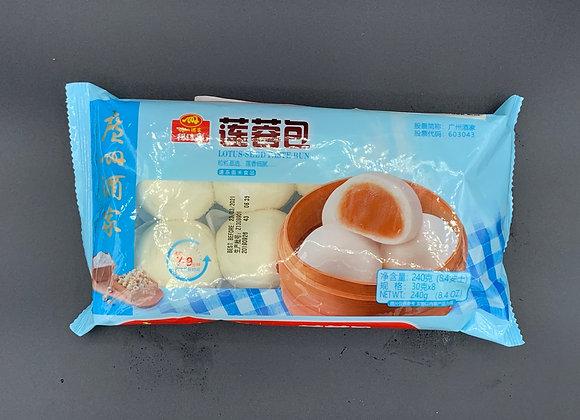 广州酒家利口福莲蓉包 240g GZJJ Lotus-Seed Paste Bun