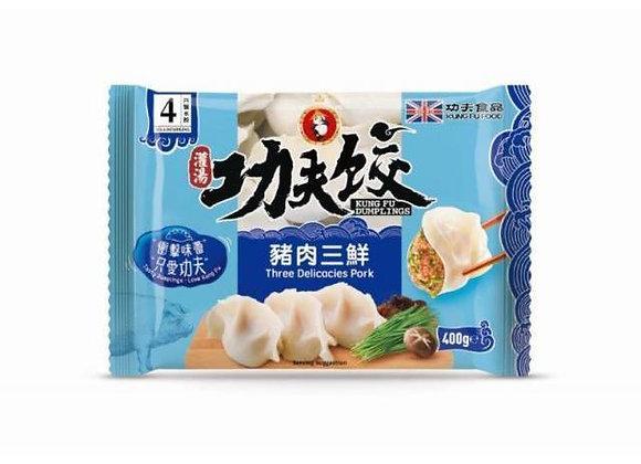 功夫水饺-猪肉三鲜 400g Kungfu Dumplings-Three Delicacies Pork