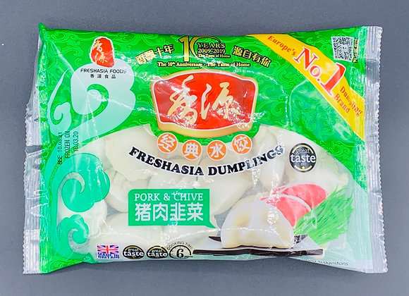 香源水饺-猪肉韭菜 400g Freshasia Pork & Chive Dumpling