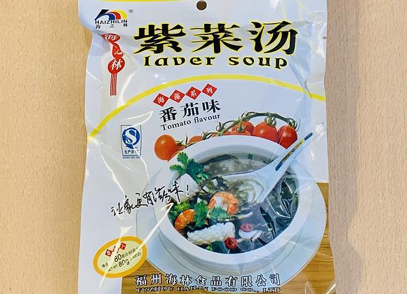 海之林紫菜汤-番茄味 80g HZL Laver Soup-Tomato Flavour