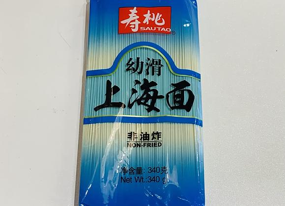 寿桃牌上海面 340g STP Shanghai Noodle