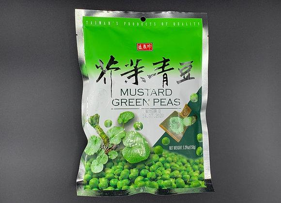 盛香珍芥末青豆150g TF Green Peas-Mustard