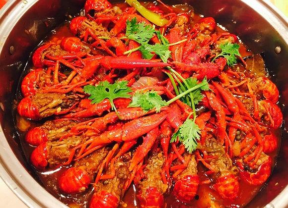 麻辣小龙虾 Hot & Spicy Chinese Crayfish