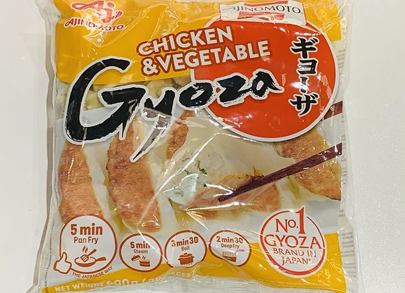 日本鸡肉蔬菜锅贴 600g Ajinomoto Chicken & Veg Gyoza