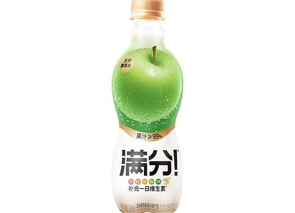 元气森林满分微气泡果汁-青苹果味 380ml GKF Carbonated Juice Drink-Green Apple