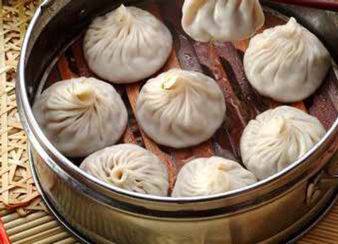灌汤小笼包 Steamed Juicy Dumpling