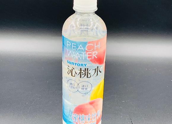 三得利沁桃水550ml SDL Lemon Water Peach Flavour