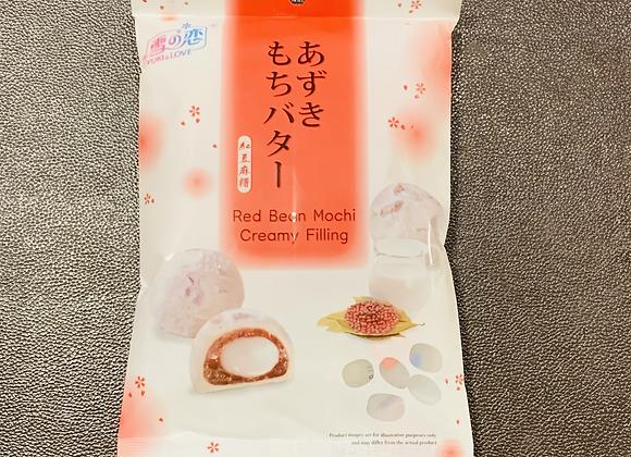 雪之恋红豆麻糬 120g SG Taiwan Mochi-Red Bean Creamy Filling