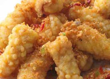 酥炸鲜鱿 Crispy Fried Squid with Sweet Chili Sauce